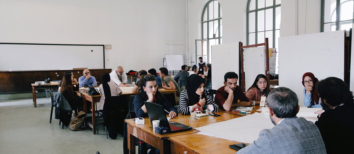 Kabataş Transfer Center and Square Workshop
